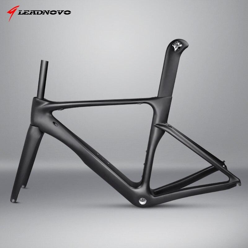 Oem por atacado Chinês taiwan fibra de carbono aero estrada corrida de bicicleta quadro da bicicleta oem quadros feitos na china LNAR18