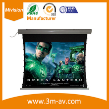 120inch16::9 Super Flat!! Tab Tensioned Projector Projection Screen Low Noise Tubular Motor with RF and IR Dual Remote Control