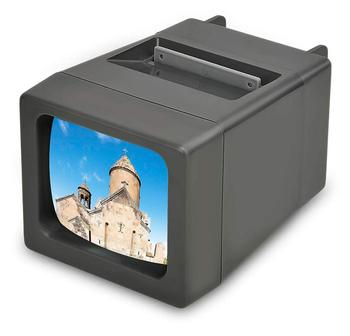 LED Lighted Illuminated 35mm Slide Viewer w/o cable
