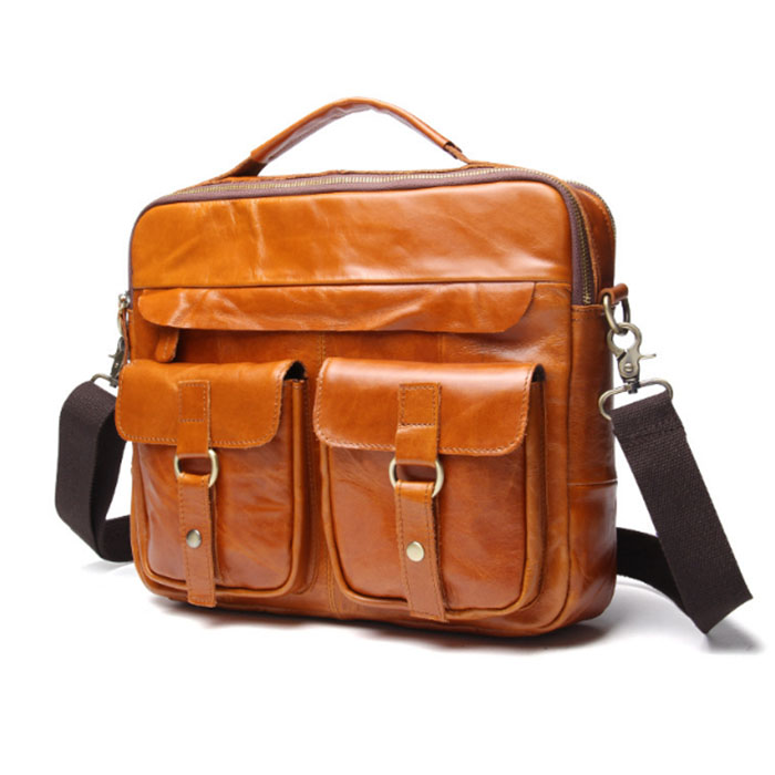 2cd403a65d8b Для мужчин сумки из натуральной кожи сумки Для мужчин мужской Messenger  плечо Сумки Crazy Horse коровы