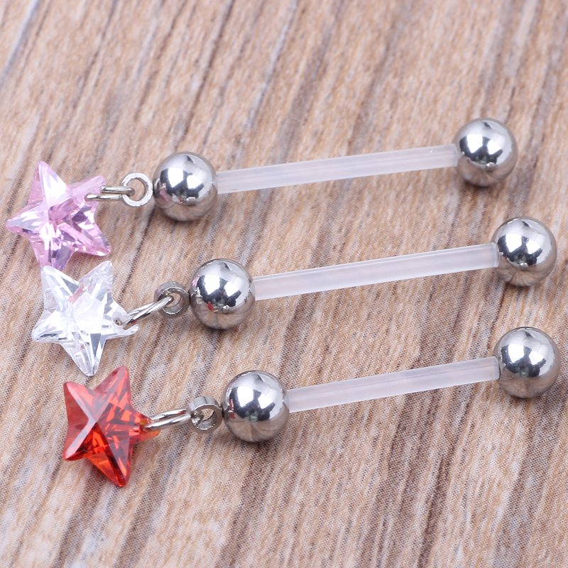 Us 29 01 11 Off 60pcs Lot 19mm Star Pregnancy Belly Button Rings Body Piercing Jewellery Pregnant Belly Rings On Aliexpress Com Alibaba Group