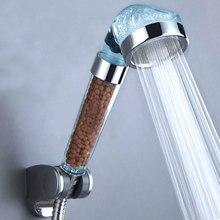 Ручная экономия воды для ванной душ сопло распылитель фильтр Душевая насадка