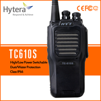 Hytera handheld walkie talkie tc610S military communication equipment UHF400 420MHz IP66 two way