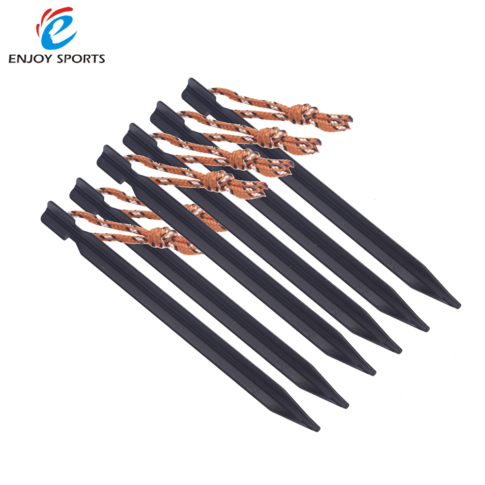 6pcs 18cm 700I Aluminium Alloy Tent Peg Nail Stake with Rope C&ing Equipment  sc 1 st  AliExpress.com & Online Get Cheap 4 Tent Pegs -Aliexpress.com | Alibaba Group