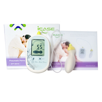 Pelvic Muscle Electrical Trainer CE Approved Kegel Exercise Muscle Stimulator With 3Pcs Jade Egg Quartz Ball Health Care Set