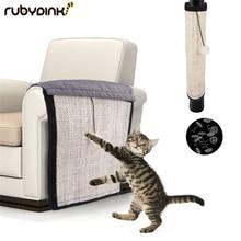 Защита мебели для кошек, котят, царапина, коврик, сизаль, скребок, коврик, когти, уход за кошками, игрушка, продукт для дивана, Когтеточка, защита
