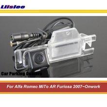 цена на Auto Rear Back View Reversing Camera For Alfa Romeo MiTo AR Furiosa 2007-Onwork Car Reverse Rearview Parking Camera HD CCD CAM