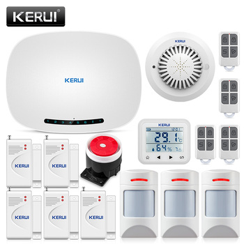 CORINA W19 Auto-dialer IOS/Android APP Controle SMS Inbreker Alarme Maison Sans Fil Francais Wireless Home Security GSM Alarm Suits