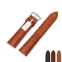 Brown Black Genuine Leather Watch Strap Band 18 19 20 21 22 mm – Soft