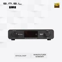 SMSL A6 Hi-Fi Цифровой усилитель 50Wx2 цифровой ЦА-преобразователь 110 В/220 В собственный DSD512 USB/оптический/коаксиальный/LP плеер/CD аналоговый вход