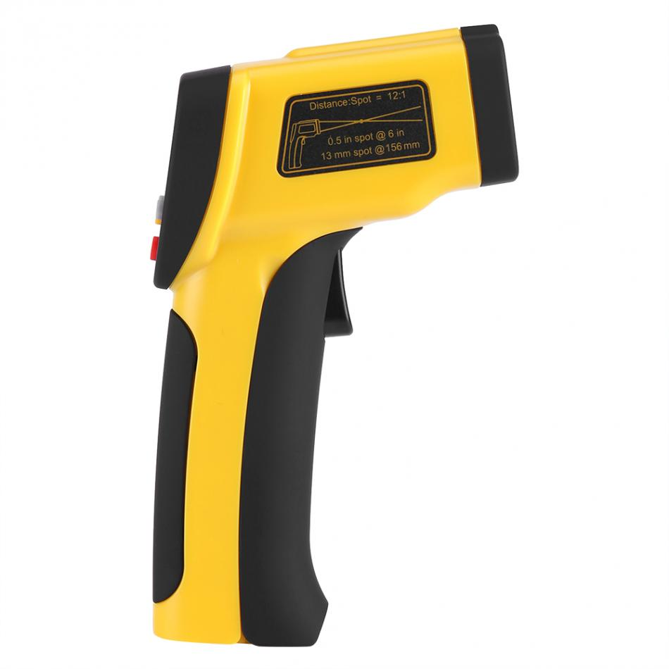 Non-contact Thermometer lR Laser Digital C/F Selection Handheld Thermometer Gun -50~1050 Degree Thermoregulator Detector кольца кюз дельта 110926 d