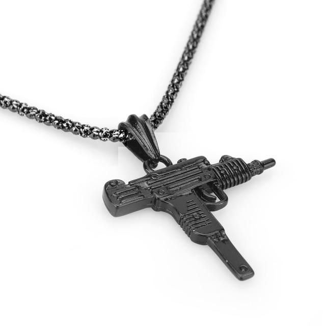 Machine Gun Pendant Necklace 6