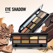 IMAGES New 8 Colors Mineral Powder Shimmer Eye Shadow High Fidelity & Effects Eyeshadow Palette Matte, satin, metallic
