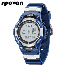 Men's Digital Sport Watch 100M Waterproof Outdoor Electronic Alarm Stopwatch Water Resistant for Children Kids Boy SW01