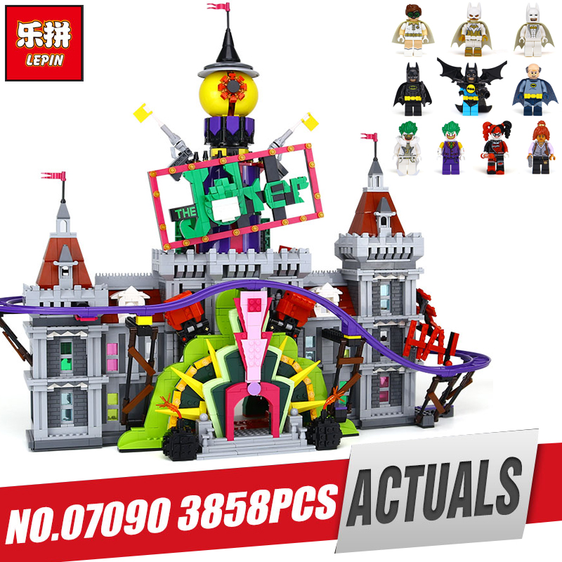 DHL Lepin 07090 Hot-sale Super Hero Series The Joker`s Manor Set 70922 Building Blocks Bricks Legom toy Children Boy`s Gift it s boy marianne richmond
