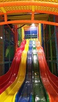 customization indoor playground park crazy slide equipment high fun city for kids and adults YLW IN180809