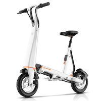 OM Foldable Electric Scooter For Adults Folding Bike Electirc Car Bicycle Hoverboard With Bluetooth GPS And