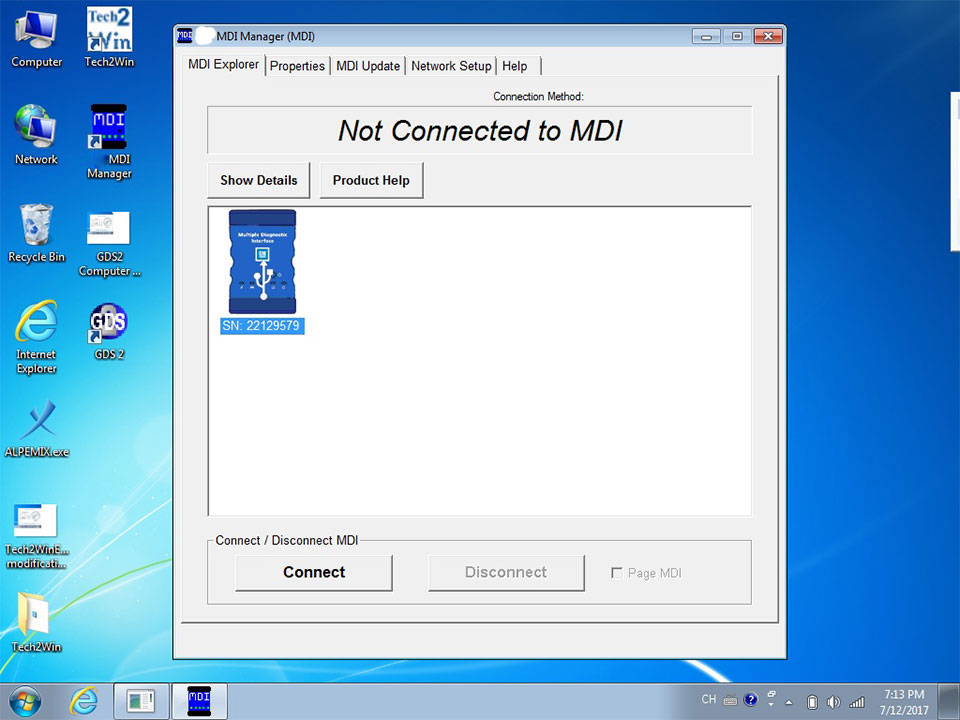 MDI GDS2 MDI GDS Tech 2 Win Software V8 3 103 39 Sata HDD for Opel/Buick  and Chevrolet MDI Car Diagnostic Scanner Software