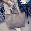 Simple Style fashion formal women's vintage handbag brief one shoulder big bags large capacity bag Women Shopper Bag Moda Mujer
