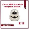 12kit = 24 шт. 3D Принтер Reprap Коссель Дельта K800 Круглый Винт Мяч + круглый Магнитный Кронштейн/3D Принтер Reprap Коссель Дельта K800