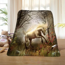 P#106 Custom Horse#15 Home Decoration Bedroom Supplies Soft Blanket size 58×80,50X60,40X50inch SQ01016@H+106