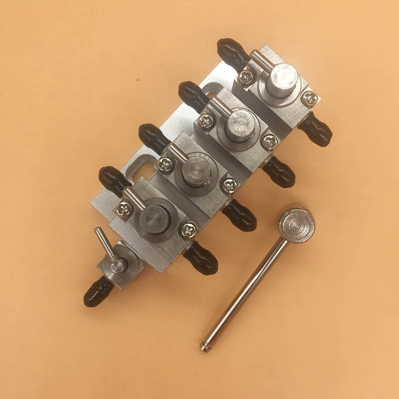 Inkjet printer printhead 3 way cleaning valve units assembly 4 unit manual metal hand clean valve for Flora Wit color Infiniti-in Printer Parts from Computer & Office    1
