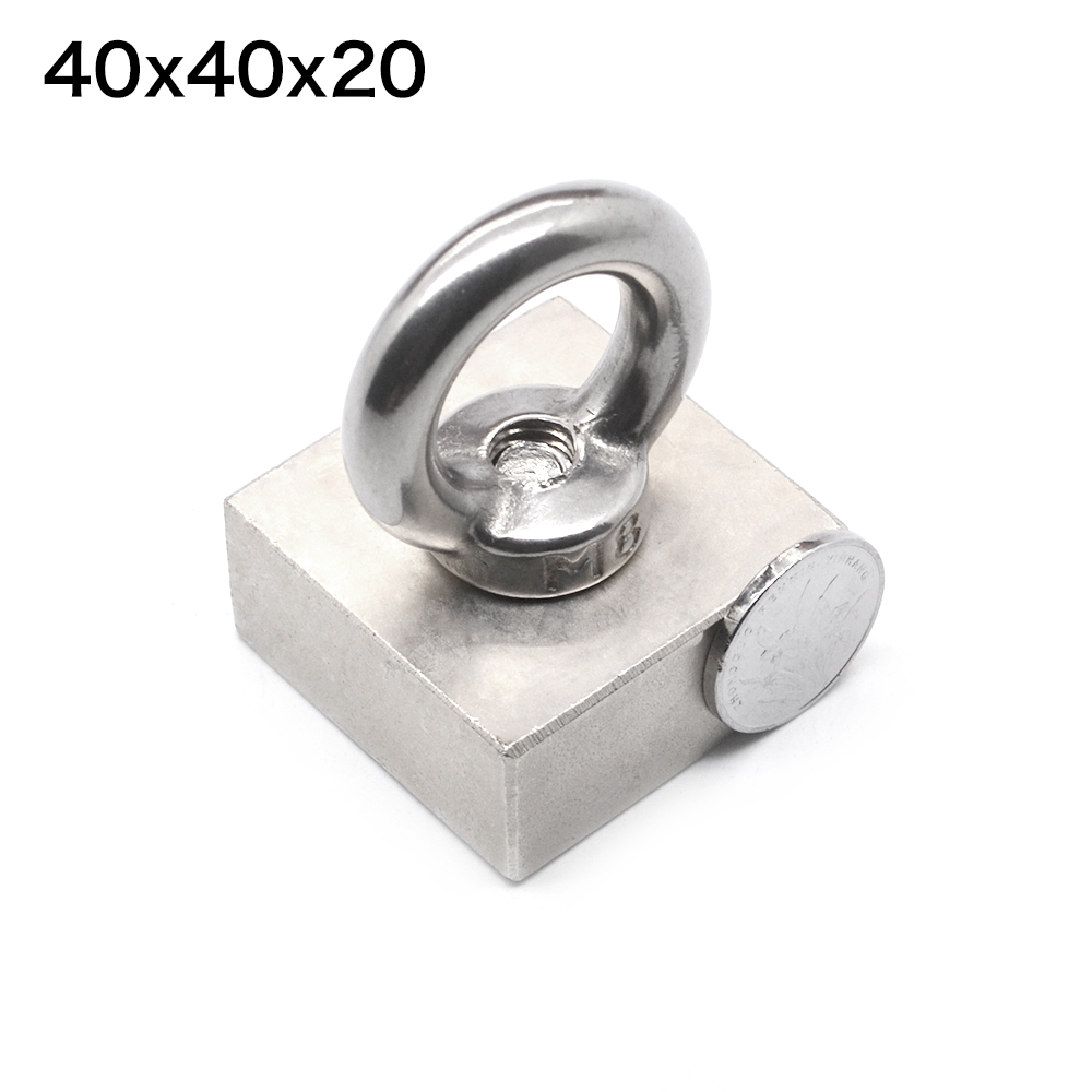 Rare Earth block hole magnet 40mm x 40mm x 20mm Neodymium  Magnets 40mm*40mm*20mm (tolerance 4mm)Rare Earth block hole magnet 40mm x 40mm x 20mm Neodymium  Magnets 40mm*40mm*20mm (tolerance 4mm)