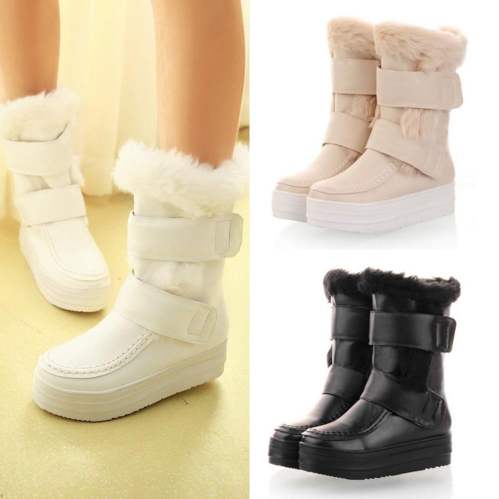 Aliexpress.com : Buy 2015 winter warm snow boots for women fur ...