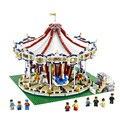 3263 Unids City Creator Experto Gran Carrusel Modelo Kit de construccion de Juguete Bloques adrillo Compatible 10196