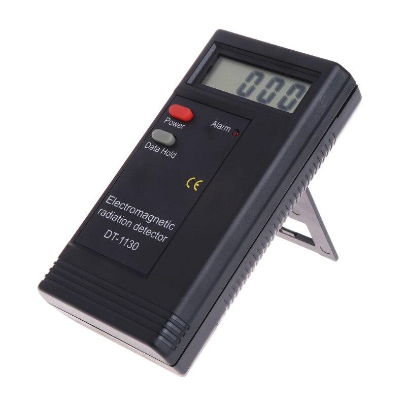 Elektromagnetische Strahlung Detektor LCD Digital EMF Meter Dosimeter Tester DT1130 #0615
