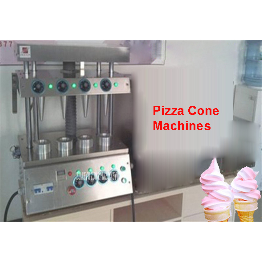 Commercial used easy operation kono pizza cone making machine 2400W /umbrella cone pizza / 110V/220V stainless steel Material цены