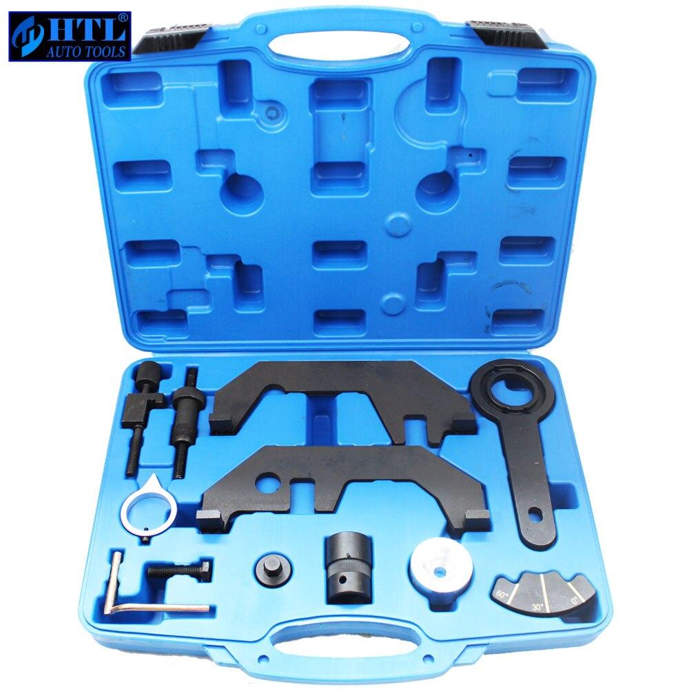 Engine Camshaft Locking Tools  For BMW 730i 745i 545i 645i 750i N62TU N62 N73 Engines  Car Gargue Timing Tool 12 Pcs
