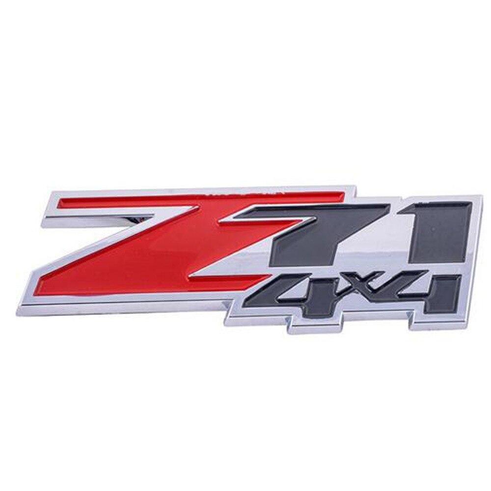 X2 Pieces RED 4 X 4 EMBLEM 4X4 MERCEDES BENZ Volkswagen Truck Decal LOGO .tw.1