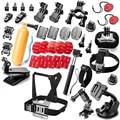 Sjcam gopro accesorios kit 36 en 1 para gopro hero 4 xiaoyi/3 +/3/2/1/SJ4000/SJ5000/SJ6000