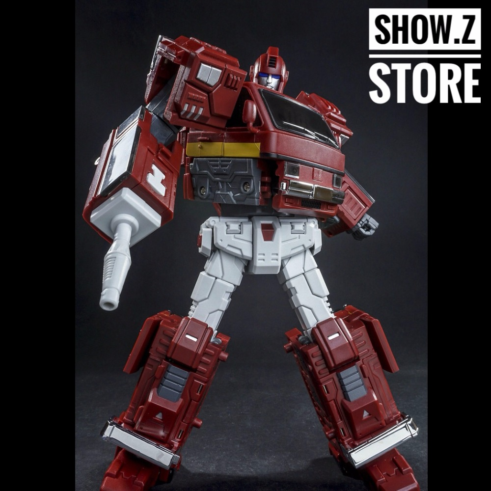 [Show.Z Store] TFC Old Time OS-01 Ironwill Ironhide Iron Hide Transformation Action Figure [show z store] [pre order] tfc toys trinity force tf 03 wildchaser blacker transformation action figure