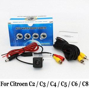 Car Parking Camera For Citroen C2 / C3 / C4 / C5 / C6 / C8 / RCA / HD CCD Night Vision Auto Reverse Rear View Camera / NTSC PAL