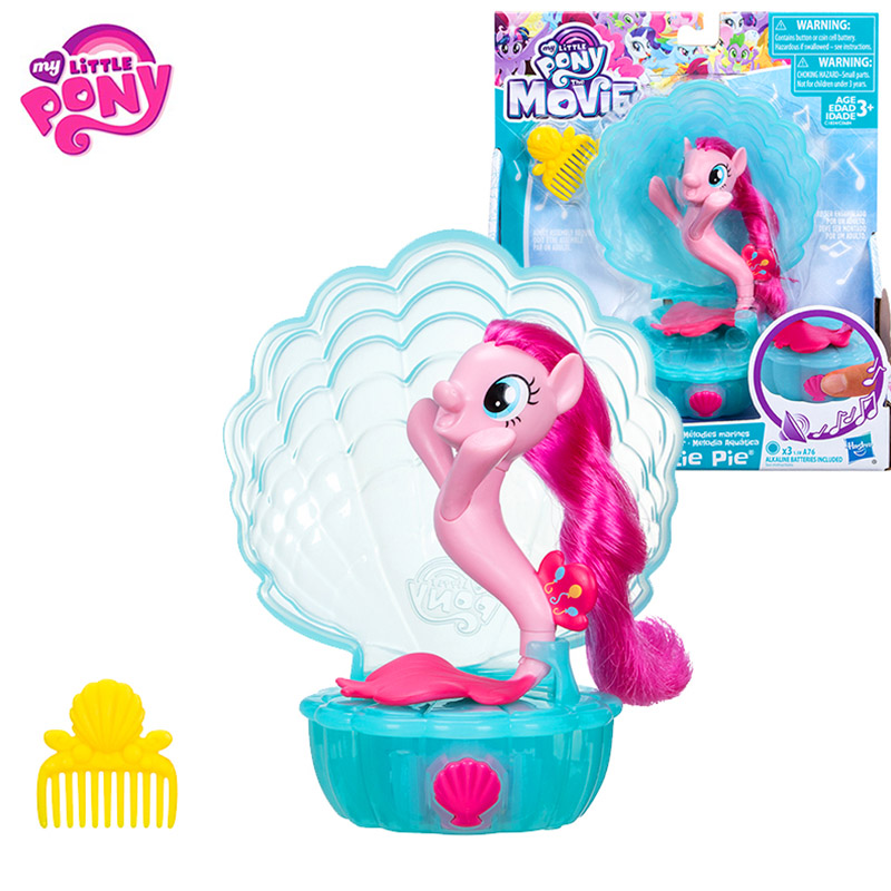 Hasbro My Little Pony Fish Pony Can Sing Song Movie&Tv Toy Action Figure Toy Model Doll For Kids