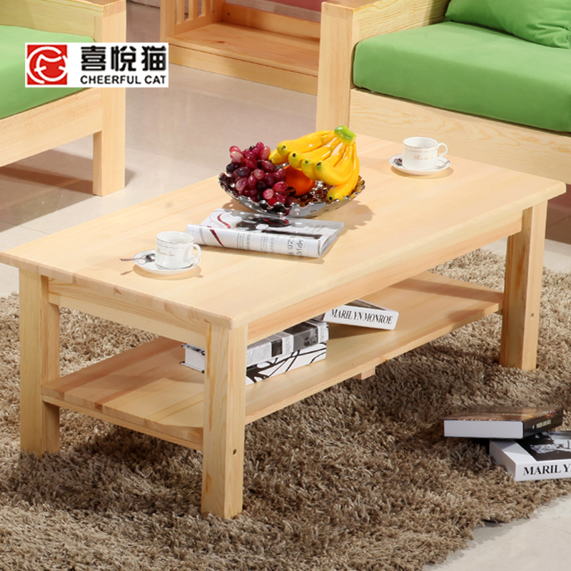 Small Wood Table And Chairs: Solid Wood Furniture Tea Tables And Chairs Combination