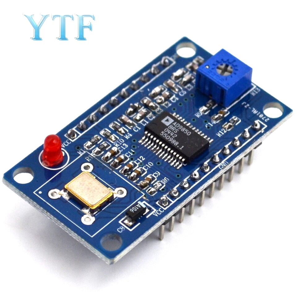Ad9850 Dds Signal Generator Module 0 40mhz Test Equipment 125mhz Of Usb Wires Color Code Besides Schematic Diagram