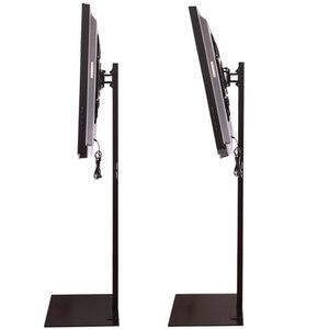 Image 3 - 32 70 cal ekran LCD plazmowy LED Monitor z tunerem TV do montażu na stojak podłogowy obrotowe pochylenia wyświetlacz reklamy do zarządzania przewodami wysokość regulowany