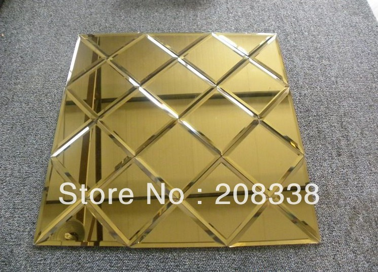Beveled Mirror Tiles In Decorative Mirrors From Home