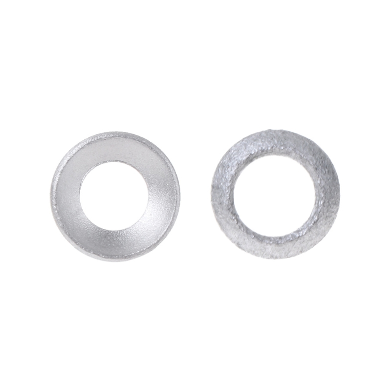 2 Pcs Bicycle Brake Caliper Spacer Joint Washer Aluminum Mountain Bike Accessory