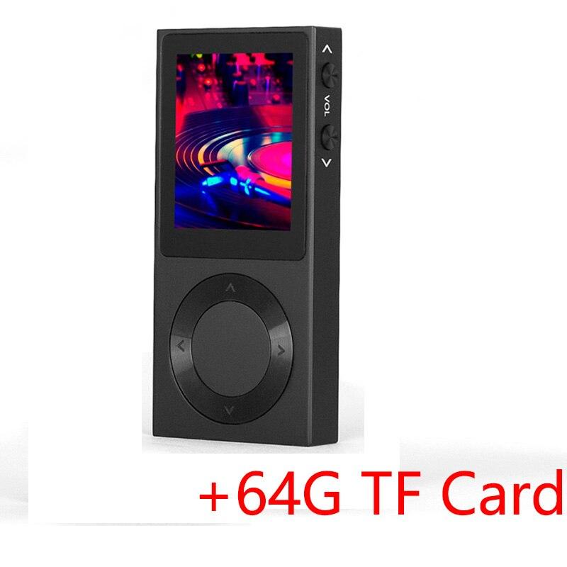 Lecteur MP3 d'origine BENJIE T6 Hifi Bluetooth 4.0 Portable DSD HiFi son lecteur de musique sans perte-prend en charge jusqu'à 256 go de musique MP3