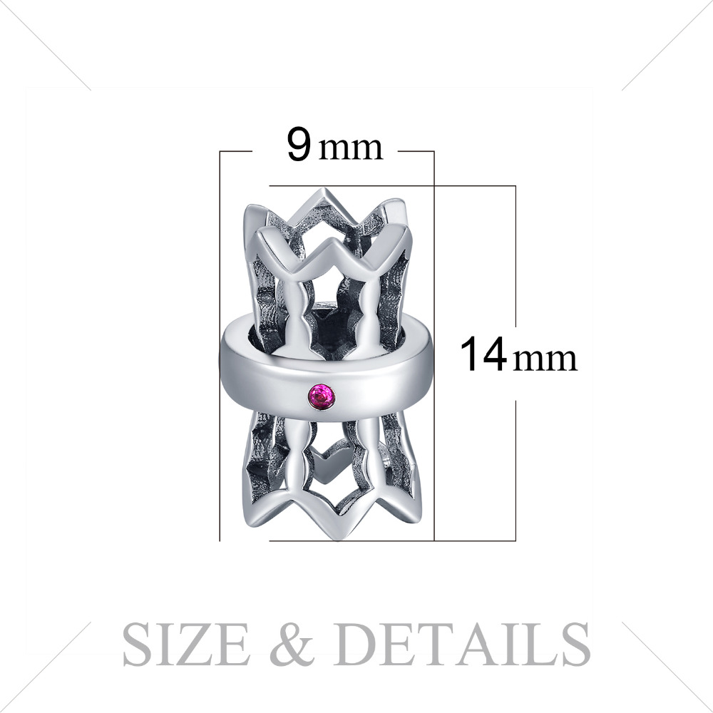JewelryPalace 925 Sterling Silver Beads Charms Silver 925 Original Fit Bracelet Silver 925 original Beads For Jewelry Making in Charms from Jewelry Accessories