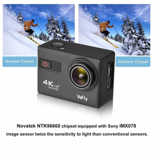 Image 3 - VeFly Sports & Action Video Cameras action camera 4k cam dvr wifi remote control hdmi sport camera action 4k ultra hd