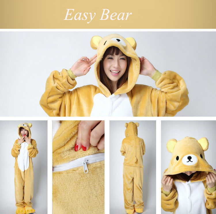 easy bear adult onesie kigurumi