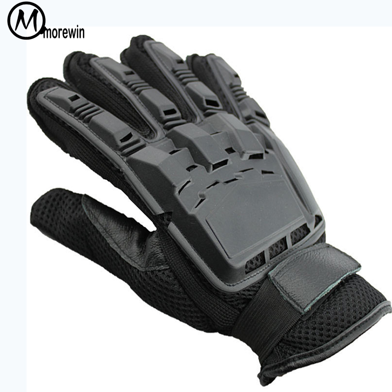 Morewin Tactical Gloves Men Outdoor Sports Military Special Forces Full Finger Gloves Antiskid Bicycle Gloves Wearable Gym Glove