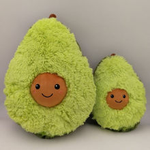 Avocado Fruits Cute Plush Toys Stuffed Dolls Cushion Pillow For Kids Children Christmas Gift Girls Baby Girls Squishy New Year(China)