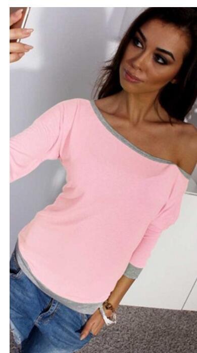 30 pcs/lot! 2019 nouvelle mode été femmes bonbons couleur fluorescente sept Points manches T-shirt en gros