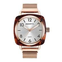 Luxury Women Bracelet Watch Creative Magnetic Ladies Quartz Watch Rose Gold Milanese Steel Strap Watches Female Girls Clock 2019
